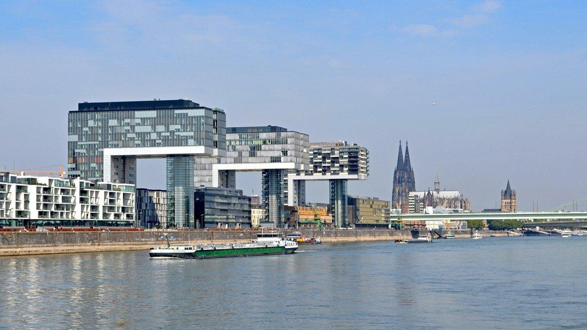 Kölner Kranhäuser